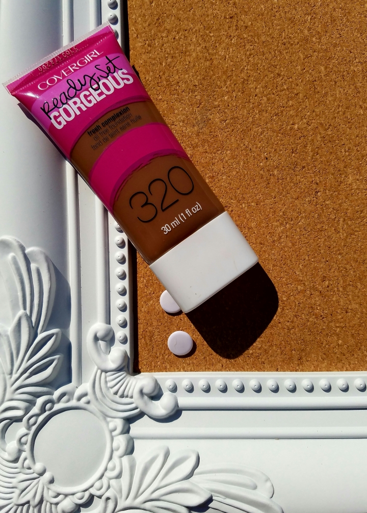 Product Review: Covergirl  Ready, Set, GorgeousFoundation