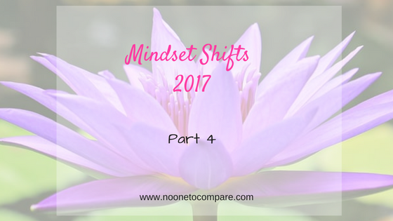 Mindset Shifts 2017: Money, Time and Energy
