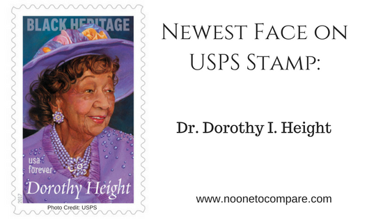 Civil Rights Icon, Dorothy Height,  honored with Forever Stamp