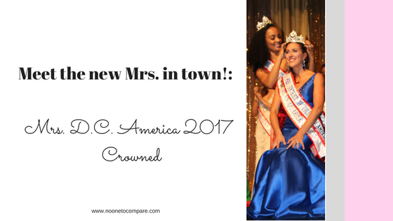 Meet the new Mrs. in town: New Mrs. DC America Crowned!