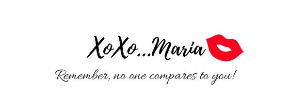 XoXo...Maria signature