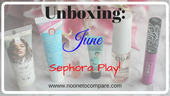Unboxing: June Sephora Play!