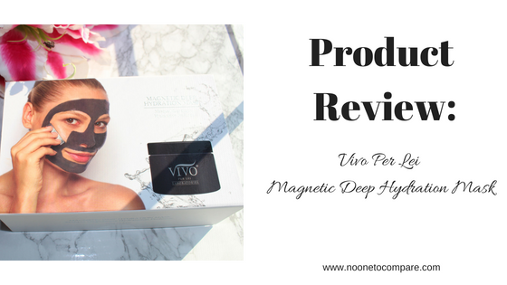 Product Review: Vivo Per Lei Magnetic  Deep Hydration Mask